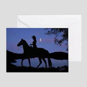 Moonlight - Greeting Card