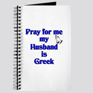 Prey for me my Husband is Greek Journal