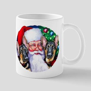 Santa's GSD Christmas Mug