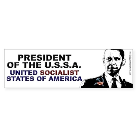 President of the USSA Bumper Sticker