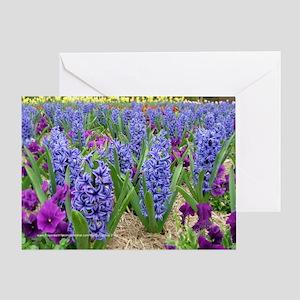 2706 Hyacinths, Daffodils, Greeting Card