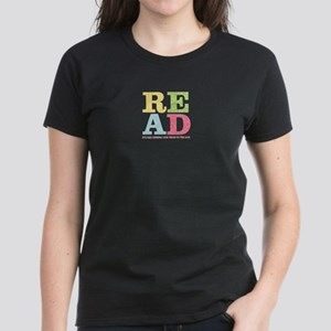 read Women's Dark T-Shirt