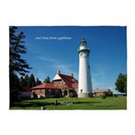 Seul Choix Point Lighthouse 5'x7'area Rug