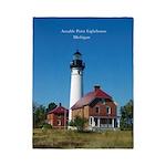 Au Sable Point Lighthouse Twin Duvet Cover