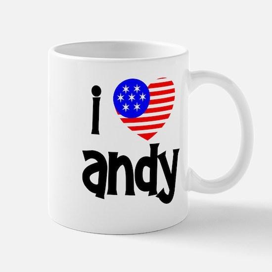 I Love Andy (Roddick) Mug