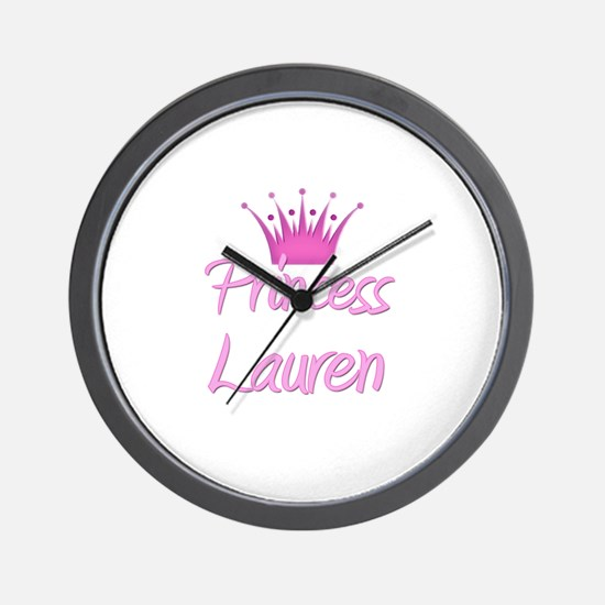 Princess Lauren Wall Clock