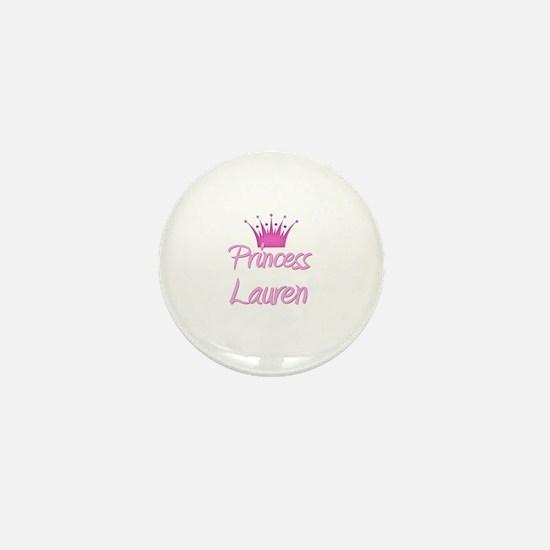 Princess Lauren Mini Button