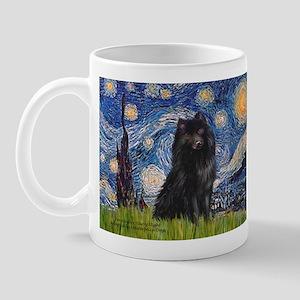 Starry Night Schipperke Mug