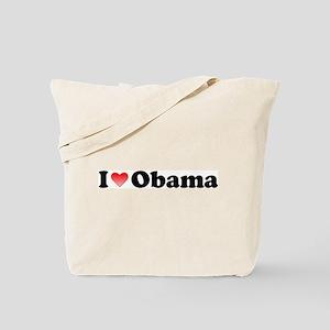 Koy's Logo + I Love Obama Tote Bag