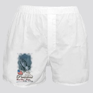 Pray for President Obama - Boxer Shorts