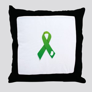 Kidney Donation Awareness Throw Pillow