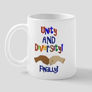 Unity and Diversity Finally Mug