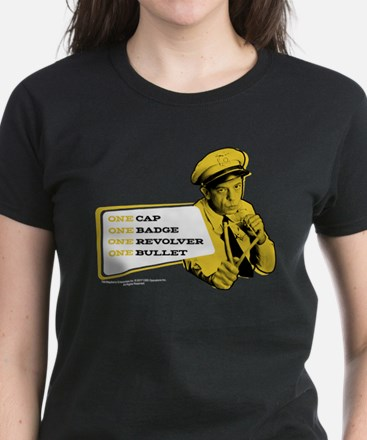 Barney Fife One Women's Dark T-Shirt