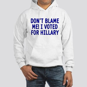 I voted for Hillary Hooded Sweatshirt