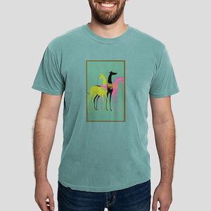 Art Deco Ornate Greyhounds T-Shirt