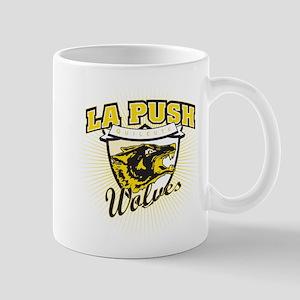La Push Wolves Team Emblem (gold) Mug