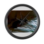 Darkside of Precious the DOG Large Wall Clock