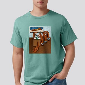 Belly Up to the Weiner Bar Ash Grey T-Shirt