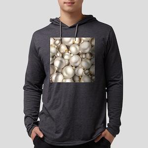 silver christmas ornaments Long Sleeve T-Shirt