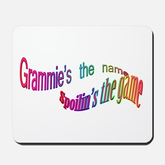 Grammie's the name, Spoilin's Mousepad