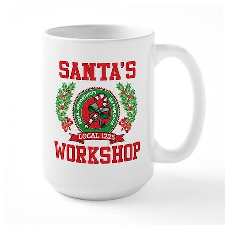 SANTA'S WORKSHOP Large Mug