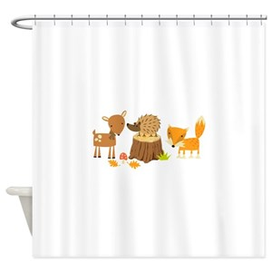 Baby Deer Shower Curtains