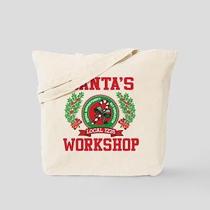 SANTA'S WORKSHOP Tote Bag
