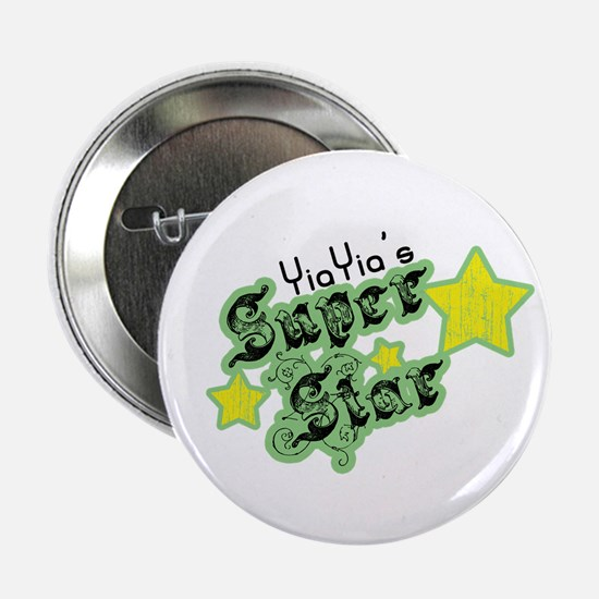 """YiaYia's Super Star 2.25"""" Button"""