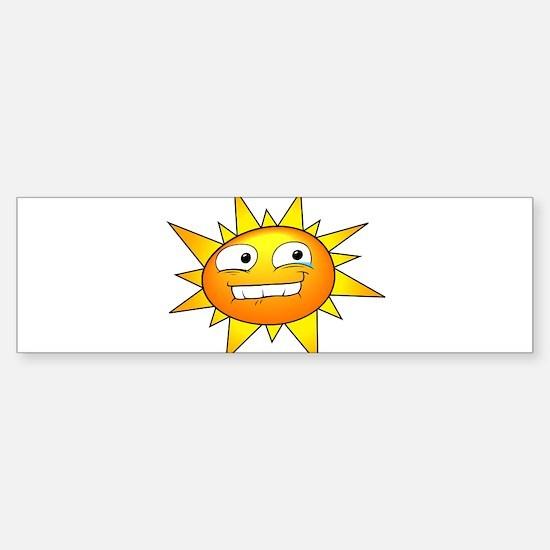 Sunshine Bumper Bumper Bumper Sticker