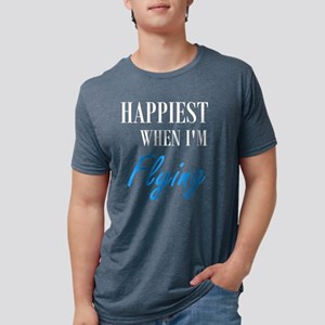 Happiest When I'm Flying T-Shirt T-Shirt
