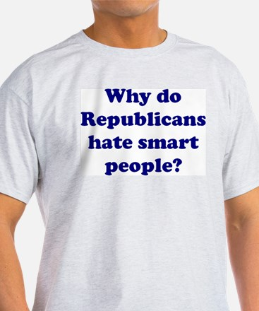 Koy's Logo+Why hate smart peo T-Shirt