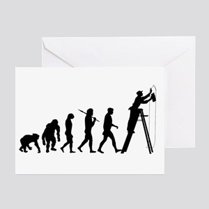 Wallpapering Decorators Greeting Cards (Pk of 20)
