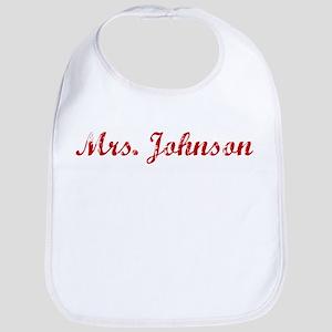 Mrs. Johnson Bib