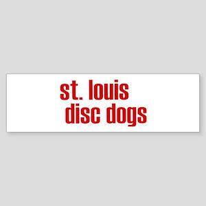St. Louis Disc Dogs Bumper Sticker