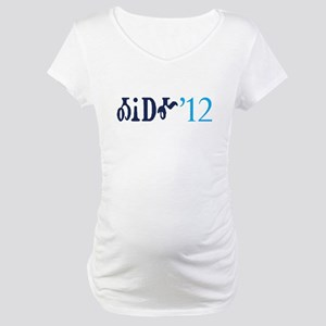 Obama '12 Cherokee Maternity T-Shirt
