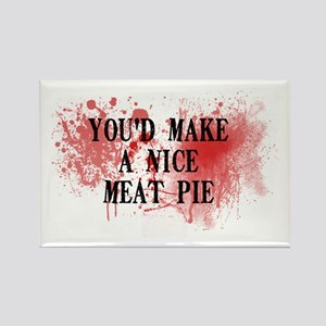 Sweeny Todd's Meat Pie Rectangle Magnet