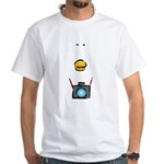 WTD: Big Face White T-Shirt