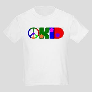 PEACE FLOWER KID Kids T-Shirt