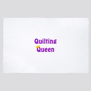 Queen of Quilting 4' x 6' Rug
