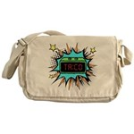 Taco Time - Blue Messenger Bag