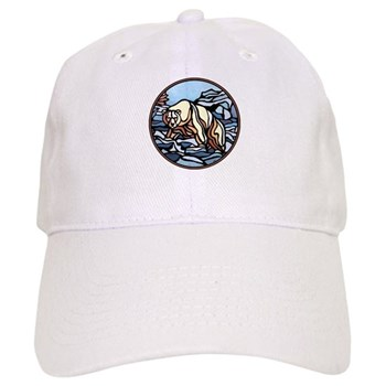 Polar Bear Art White Cap Wildlife Art & Design