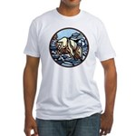 Cool Polar Bear Fitted T-Shirt Wildlife Design