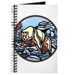 Polar Bear Art Journal Wildlife Painting Gifts