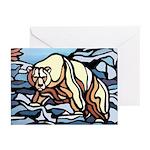 Polar Bear Art Greeting Cards 6 Wildlife Painting