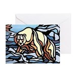 Polar Bear Art Greeting Cards 6 Wildlife Painting