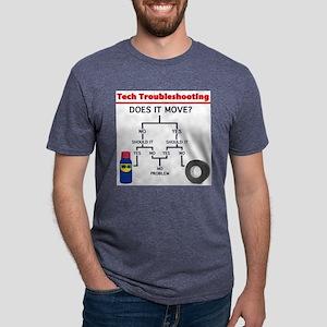Tech Troubleshooting Flowchar T-Shirt