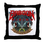 Baboon Rising Throw (at country music fans) Pillow