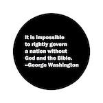 George Washington Quote Button