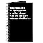 George Washington Quote Journal