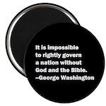 George Washington Quote Magnet